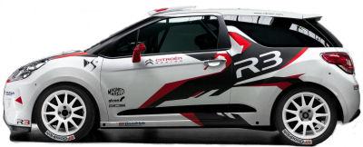 Citroën va commercialiser une DS3 R3 en kit à des clients privés pour participer à des épreuves de rallye selon la réglementation R3T de la FIA.